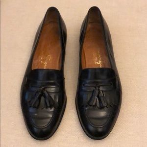 Salvatore Ferragamo men's leather loafers